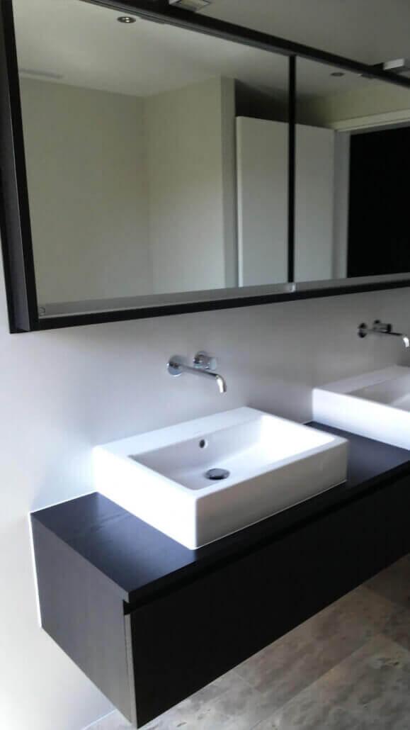 Spiegelschrank Waschtisch   Badmöbel   Schreinerei Heer