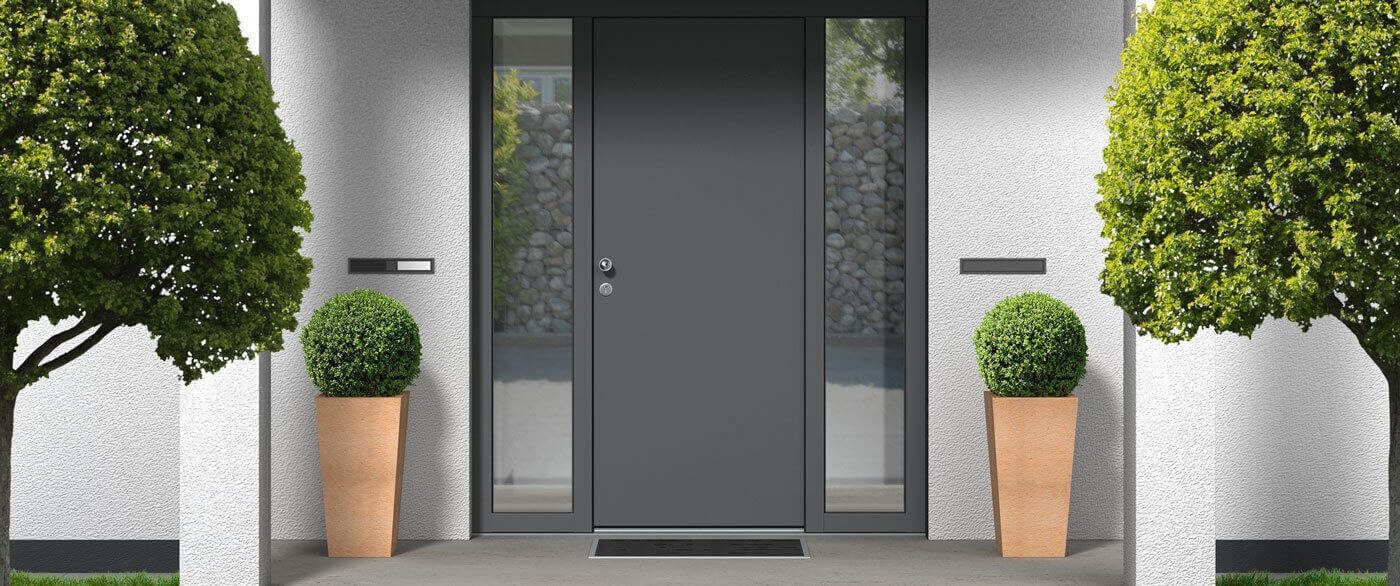Aluminium-Haustüren | Header | Schreinerei Heer